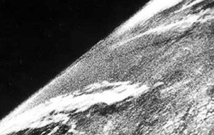 First photo from space taken by a US V2
