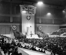 british-union-fascists-earls-court-podium