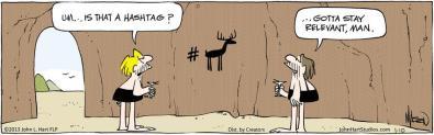 Hashtag-Comic